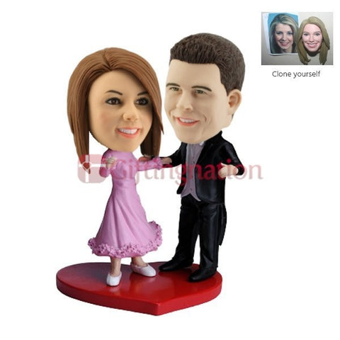 Custom Bobblehead Dancing Couple - Giftingnation