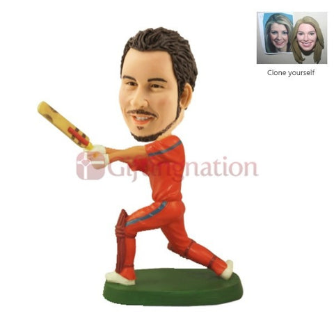 Custom Bobblehead for a Cricket Fan - Giftingnation