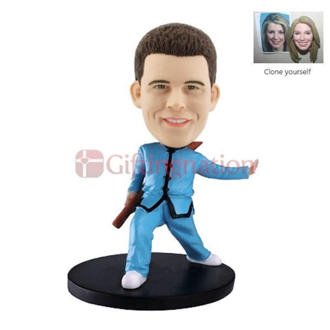 Custom Bobblehead - Custom Bobblehead For Martial Arts Fan