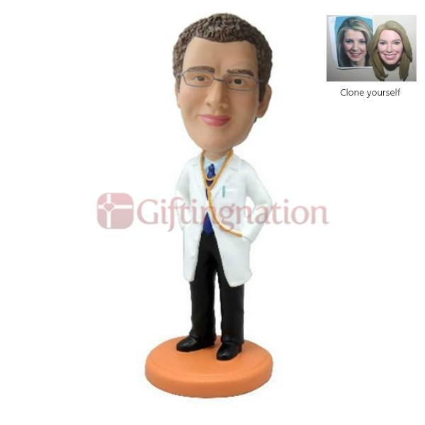 Custom Bobblehead Gift for a Doctor - Giftingnation