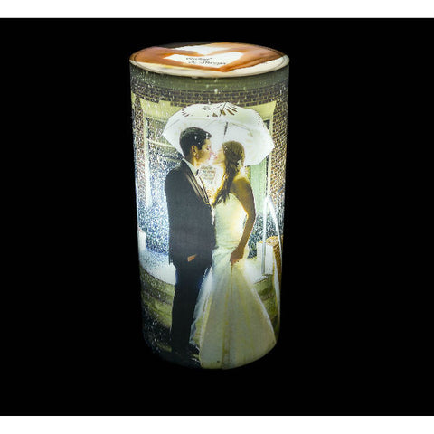 Personalised Cylinder Shape Photo Lamp - Giftingnation - 2