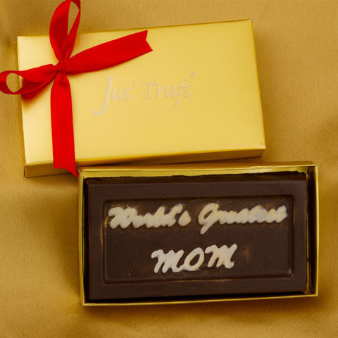 Worlds Greatest Mom Chocolate Bar - Giftingnation