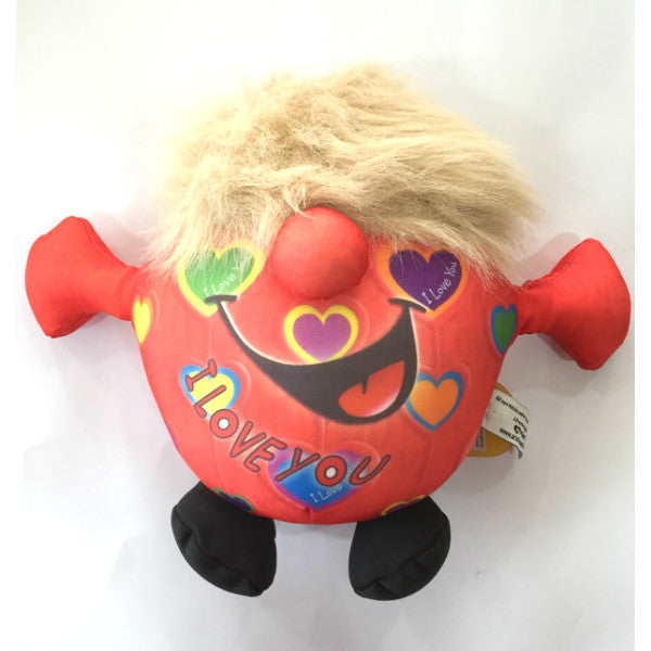 Huggable Red Soft Toy I love You - Giftingnation
