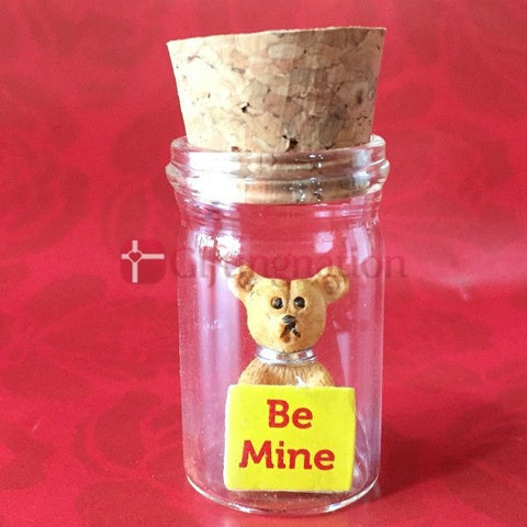 Be Mine Sentiments in a Bottle - Giftingnation