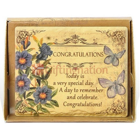 Congratulations Gift Arts in Stone - Giftingnation