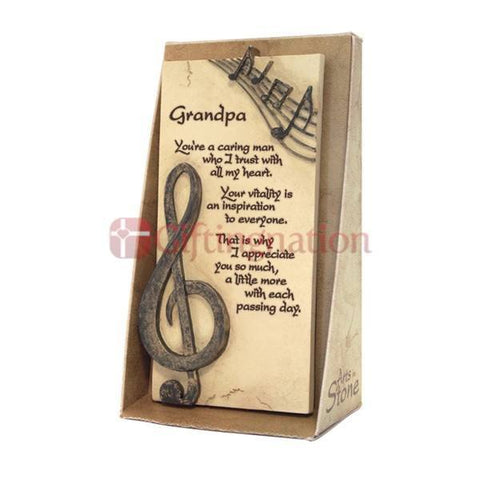 Gift for Grandfather Arts in Stone - Giftingnation