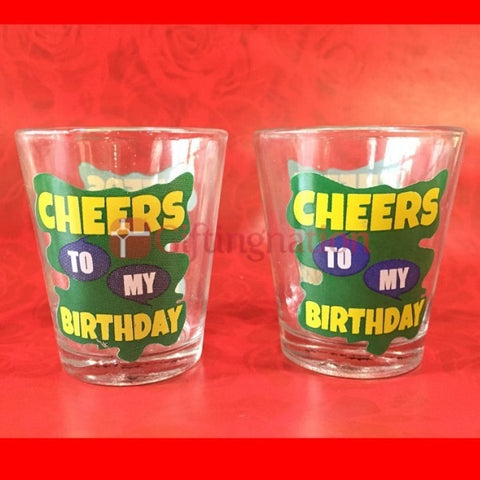 Happy Birthday Shot Glasses Set-1 - Giftingnation - 1