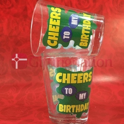 Happy Birthday Shot Glasses Set-1 - Giftingnation - 2