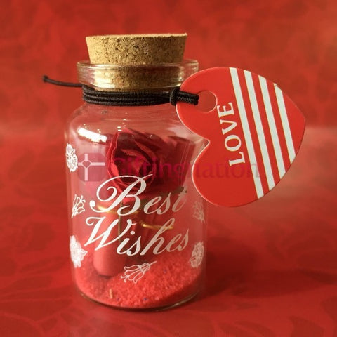Love Message in a Bottle Red - Giftingnation - 1