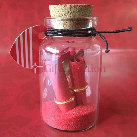 Love Message in a Bottle Red - Giftingnation - 2
