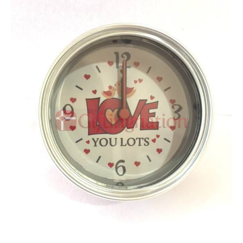 Love You Lots Surprise Table Clock - Giftingnation - 1