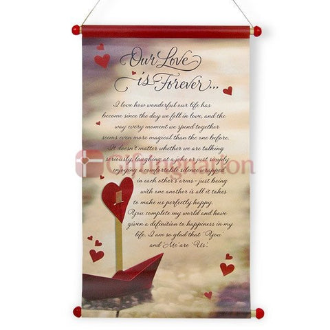 Our love is forever Scroll - Giftingnation
