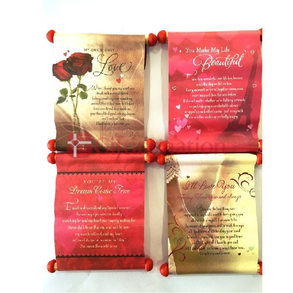 Phases of Love Scrolls - Set of 4 - Giftingnation - 1