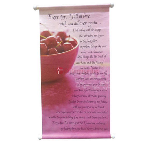 Romantic Gift Fall in Love Scroll - Giftingnation