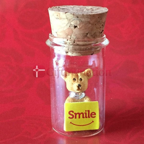 Smile Sentiments in a Bottle - Giftingnation