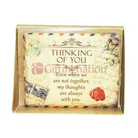 Thinking of You Romantic Gift Arts in Stone - Giftingnation