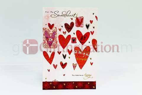 Archies For My Sweetheart Greeting Card - Giftingnation