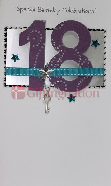Archies Happy 18th Birthday Wishes Greeting Card - Giftingnation