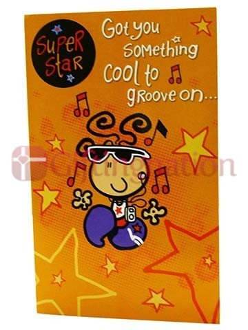 Archies Musical Super Star Birthday Greeting Card - Giftingnation