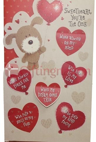 Archies Sweetheart You're The One Love Greeting Card - Giftingnation