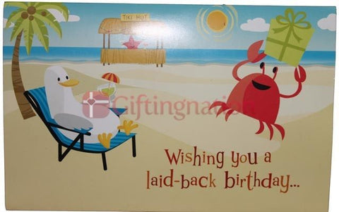 Archies Tiki Hut Birthday Greeting Card - Giftingnation
