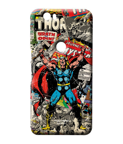 Comic Thor Sublime case for Huawei Nexus 6P - Giftingnation