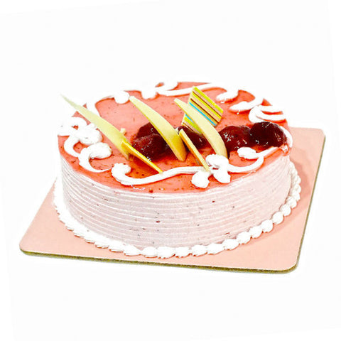 Delicious Strawberry Flavor Fresh Cream Cake