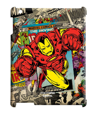 Comic Ironman Pro case for iPad 2/3/4
