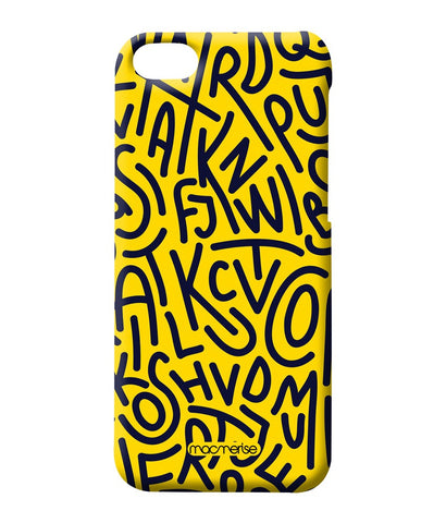 Alphabet Mashup Sublime Case for iPhone 4/4S - Giftingnation