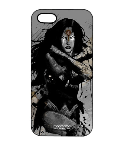 Sketched Wonder Woman Pro Case for iPhone SE - Giftingnation