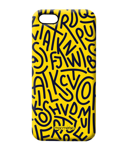 Alphabet Mashup Pro Case for iPhone 5/5S - Giftingnation