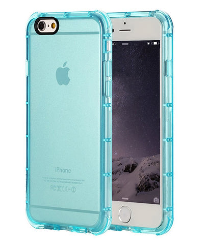 Aqua Blue Translucent Case for iPhone 6S Plus - Giftingnation