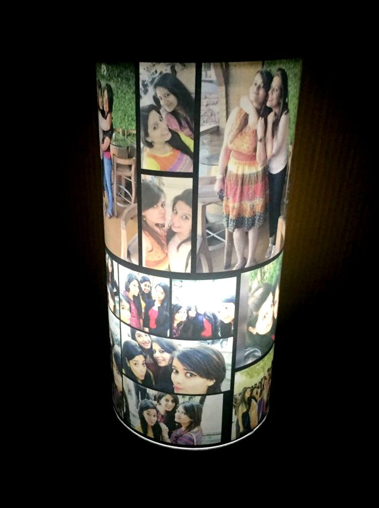 Personalised rotating photo lamp revolving photo lamp personalised revolving photo lamp aloadofball Image collections