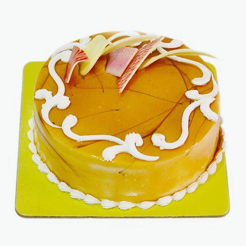 Delicious Butterscotch Flavor Fresh Cream Cake
