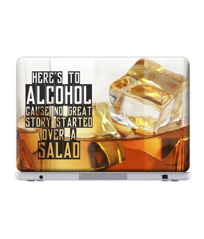 "Alcohol Fact Skin for 17"" Laptops (38.6 cm X 25.1 cm)"