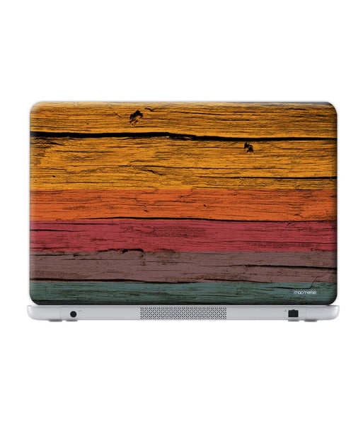 Wood Stripes Chrome Skin for Lenovo Y50-70