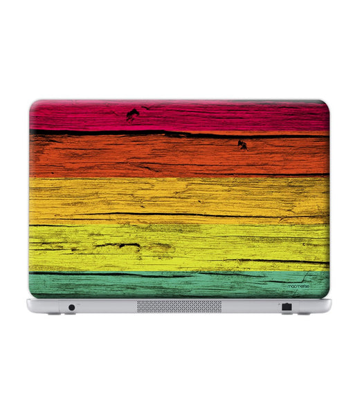 Wood Stripes Neon Skin for Lenovo Y50-70