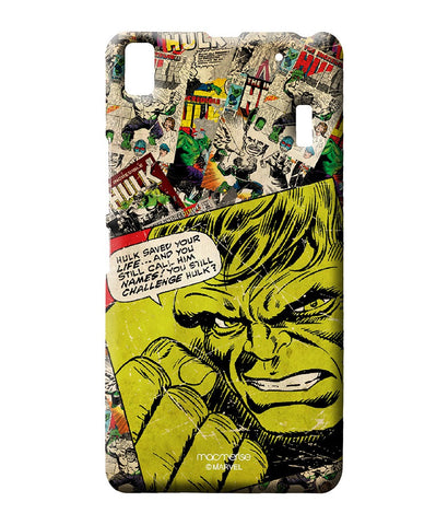 Comic Hulk Sublime Case for Lenovo A7000 - Giftingnation