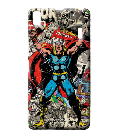 Comic Thor Sublime Case for Lenovo A7000 - Giftingnation