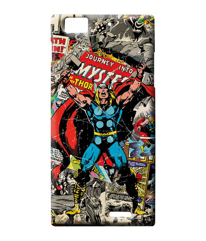 Comic Thor Sublime Case for Lenovo K900 - Giftingnation