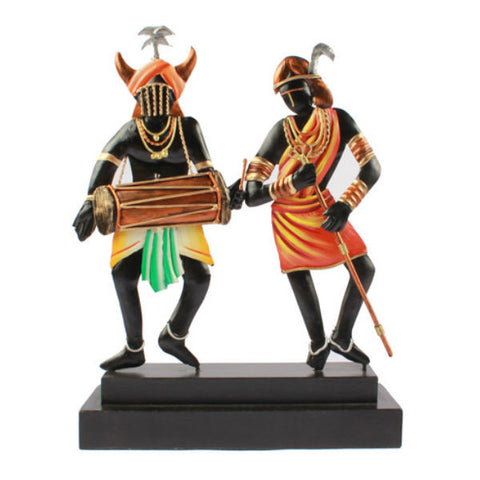 Adavasi Couple Table Showpiece - Giftingnation - 1