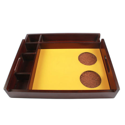 Serving Tray With Multiple Holder Slots - Giftingnation - 1
