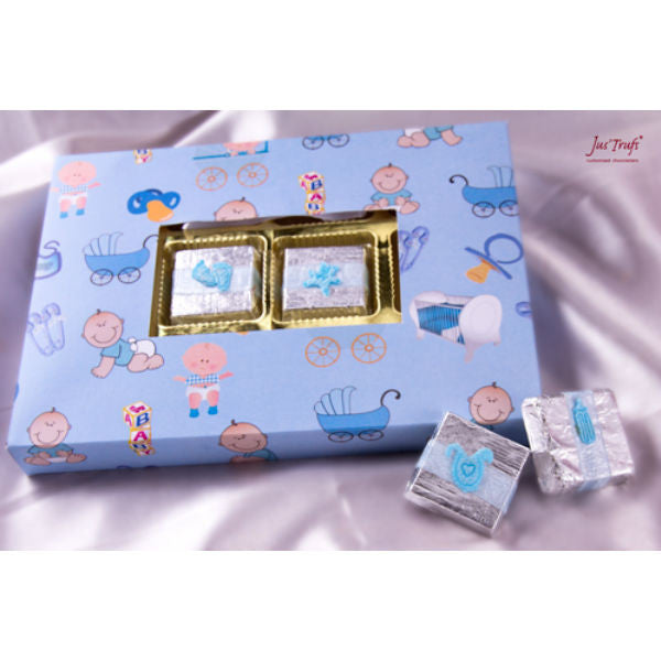 Baby Boy Wishes Chocolate Gift Box - Giftingnation