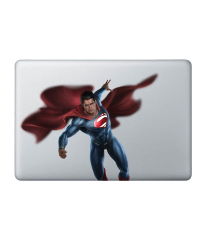Fly High Superman Decal for Macbook 11""