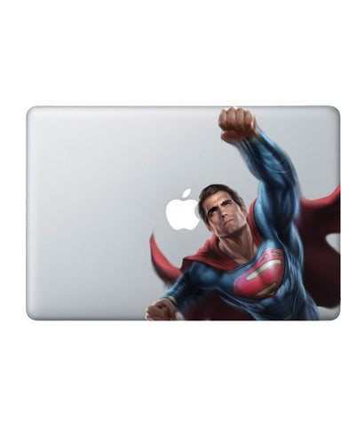 Hail Superman Decal for Macbook 13""
