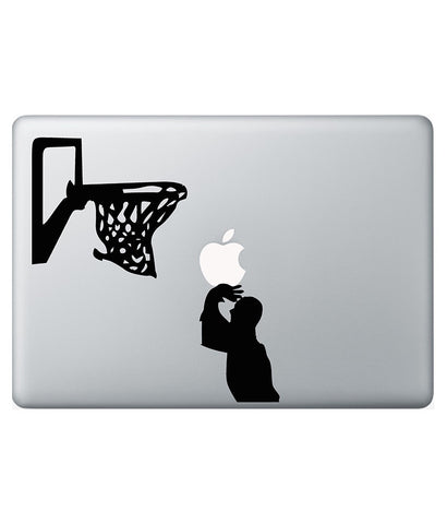 "Basketball Decal for Macbook 15"" Retina"