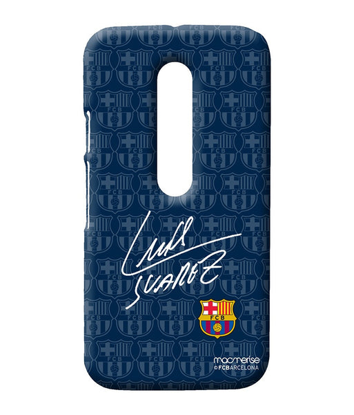 Autograph Suarez Sublime Case for Moto G Turbo - Giftingnation