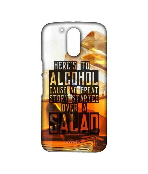 Alcohol Fact Sublime Case for Moto G4 Plus - Giftingnation