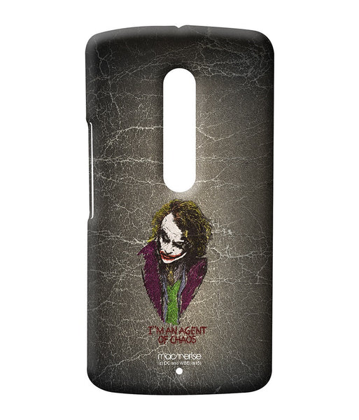 Agent of Chaos Sublime Case for Moto X Play - Giftingnation