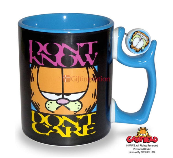 Garfield Coffee Mug Don't Know Don't Care - Giftingnation